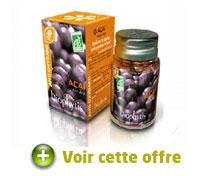 Biophytis: gélules d'açaï bio bourrées d'antioxydants