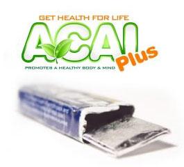 ACAI Plus: Le chewing gum à l'açaï