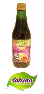 Sofruto: mélange de jus d'acai et de fruits exotiques