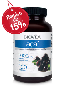 Promotion Acai - 15% de réduction